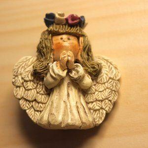 Vintage Angel pin brooch vtg